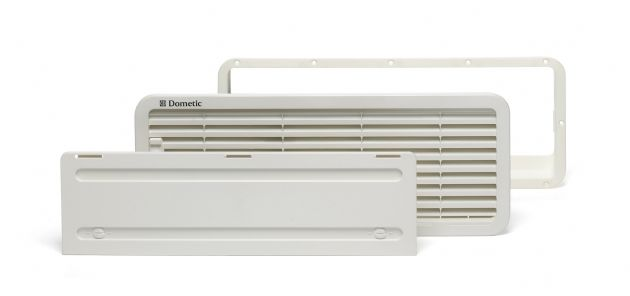 Dometic LS200 Bottom Vent & Winter Cover - Grasshopper Leisure, Fridge Vents, Caravan motorhome campervan Fridge vents